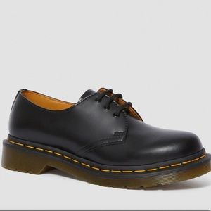 DOC MARTENS 1461 SMOOTH LEATHER BLACK OXFORD SHOES
